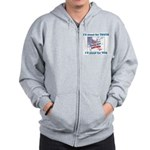 I'll stand for TRUTH Zip Hoodie
