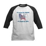 I'll stand for TRUTH Kids Baseball Jersey