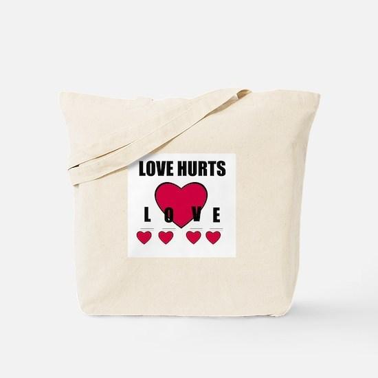 LOVE HURTS Tote Bag (BROKEN HEART)
