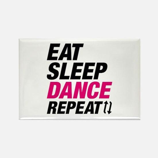 Eat Sleep Dance Repeat Rectangle Magnet (10 pack)
