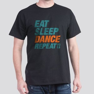 Eat Sleep Dance Repeat Dark T-Shirt