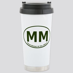 Mount Mitchell, NC Stainless Steel Travel Mug