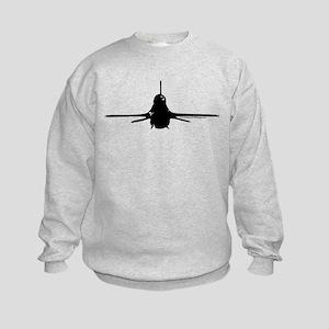 Viper - Black Kids Sweatshirt