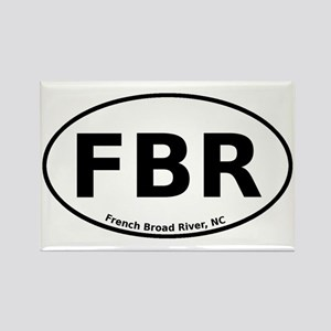 French Broad River Rectangle Magnet