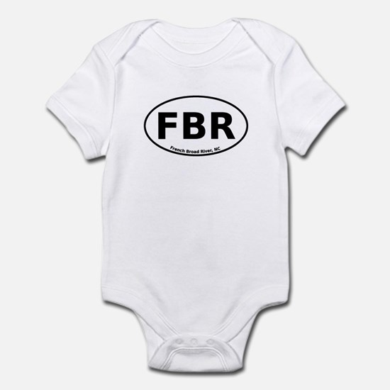 French Broad River Infant Bodysuit