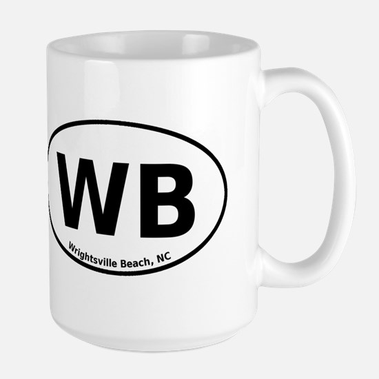Wrightsville Beach Large Mug