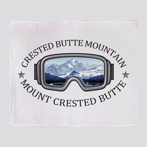 Crested Butte Mountain Resort - Mo Throw Blanket