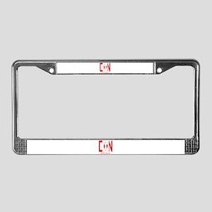 CDN Canada License Plate Frame