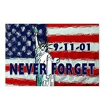 9-11-01 Never Forget Postcards (Package of 8)