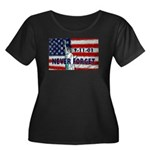 9-11-01 Never Forget Women's Plus Size Scoop Neck