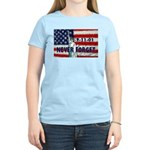 9-11-01 Never Forget Women's Light T-Shirt