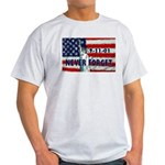 9-11-01 Never Forget Light T-Shirt