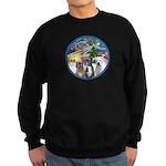 Xmas Magic / 3 Boxers Sweatshirt (dark)