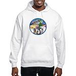 Xmas Magic / 3 Boxers Hooded Sweatshirt