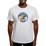 Xmas Magic / 3 Boxers Light T-Shirt