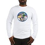 Xmas Magic / 3 Boxers Long Sleeve T-Shirt
