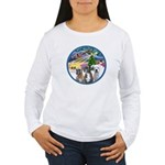 Xmas Magic / 3 Boxers Women's Long Sleeve T-Shirt