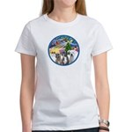 Xmas Magic / 3 Boxers Women's T-Shirt