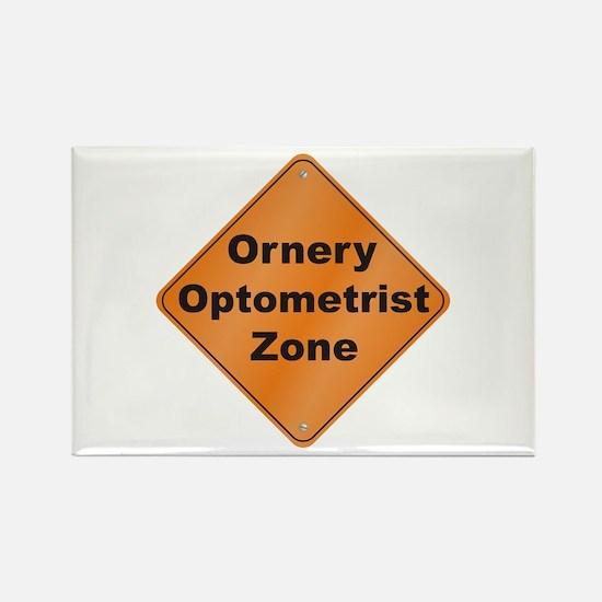 Ornery Optometrist Rectangle Magnet