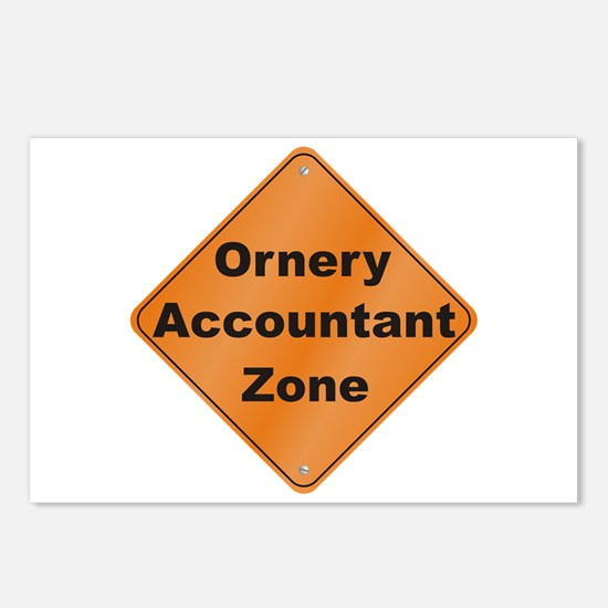 Ornery Accountant Postcards (Package of 8)