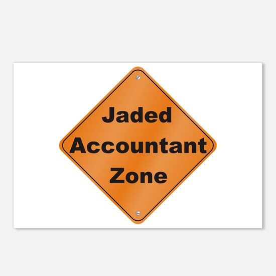Jaded Accountant Postcards (Package of 8)