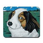 Max, the dog Mousepad