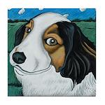 Max, the dog Tile Coaster