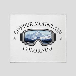 Copper Mountain Resort - Copper Mo Throw Blanket