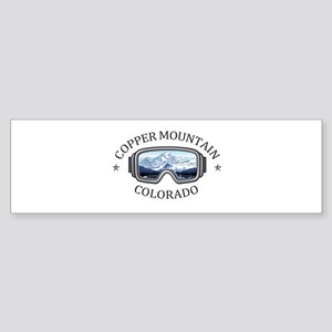 Copper Mountain Resort - Copper M Bumper Sticker
