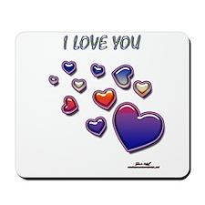 I love you Mousepad