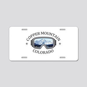 Copper Mountain Resort - Aluminum License Plate