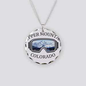 Copper Mountain Resort - C Necklace Circle Charm