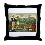 Uncle Sam Says Throw Pillow