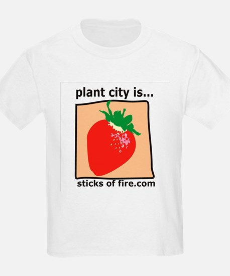 Plant City is...  Strawberrie Kids T-Shirt