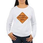 Ornery Psychiatrist Women's Long Sleeve T-Shirt