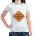 Ornery Psychiatrist Jr. Ringer T-Shirt