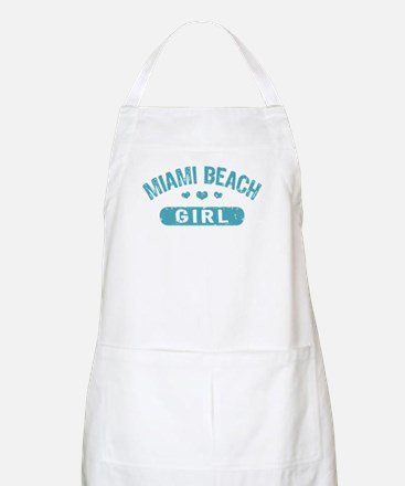 Miami Beach Girl Apron