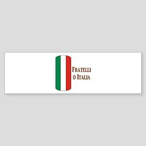 I Italy Bumper Sticker