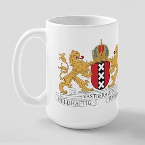 Amsterdam Coat Of Arms Large Mug