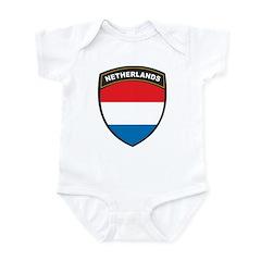 Netherlands Infant Bodysuit