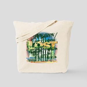 Lost Bamboo Jungle Tote Bag