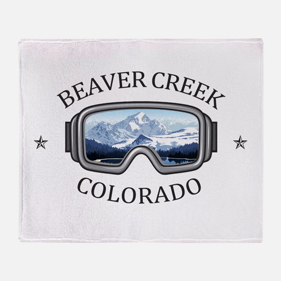 Beaver Creek Resort - Beaver Creek Throw Blanket
