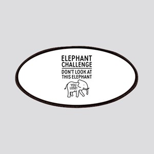 Elephant Challenge Patches