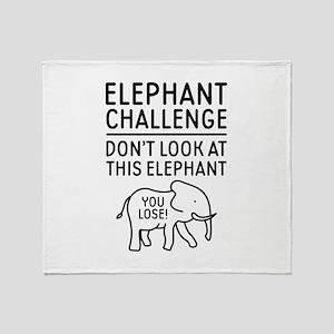 Elephant Challenge Stadium Blanket
