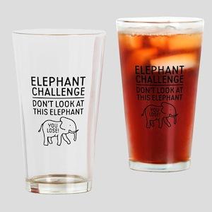 Elephant Challenge Drinking Glass