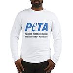 PETA Logo Long Sleeve T-Shirt