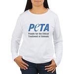 PETA Logo Women's Long Sleeve T-Shirt