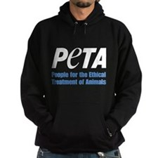PETA Logo Hoodie (dark)