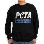 PETA Logo Sweatshirt (dark)