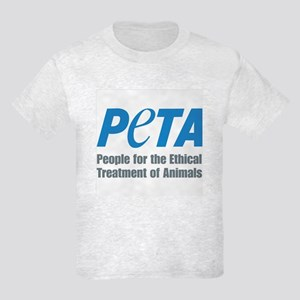 PETA Logo Kids Light T-Shirt